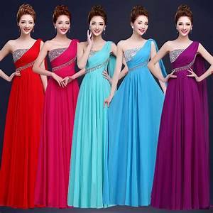 Aliexpresscom buy any colors one shoulder bridesmaid for Cheap wedding party dresses