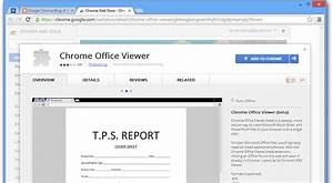 chrome office viewer opens office documents in the browser With chrome documents viewer