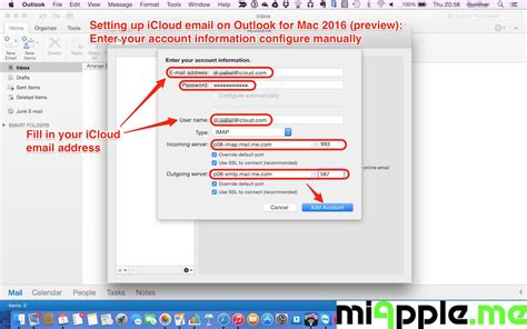Setting Up Icloud Email On Outlook 2016 For Mac  Miapple. Ishikawa Diagram Template Powerpoint. Template Of A Research Paper Template. Restaurant Server Resume Example Template. Times Square Proposal. Shared Expenses Excel Template. Discount Voucher Template Free Download. Newsletter Template Microsoft Word Template. Sample Of Dance Competition Proposal Samples