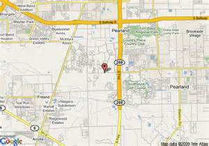 Pearland Texas Map