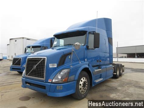 Used Volvos For Sale In Pa by Used 2007 Volvo Vnl Tandem Axle Sleeper For Sale In Pa 27505