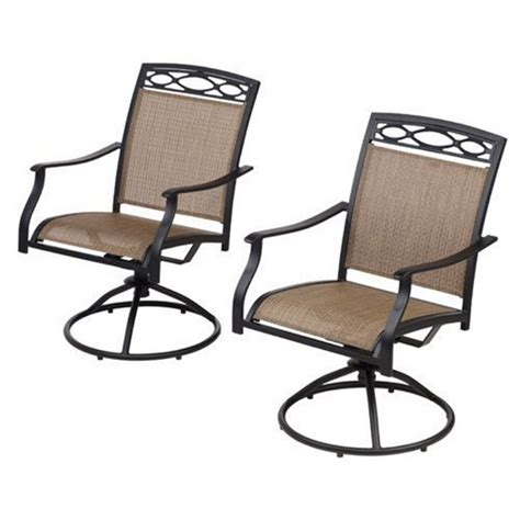 furniture allen roth safford swivel bar chairs patio