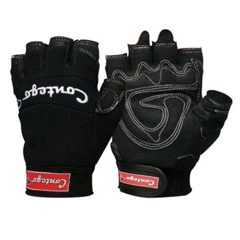 contego fingerless mechanics gloves