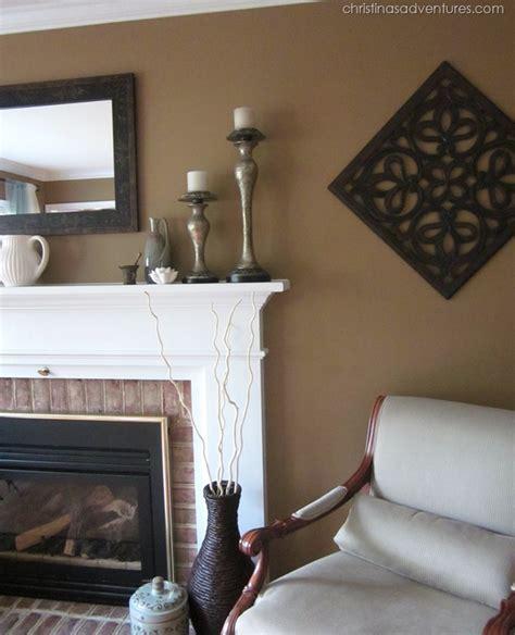 Living Room Makeover! {tan, White, Blue}  Christinas