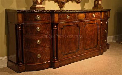 Sideboard Mahogany by Large Regency Style Mahogany Sideboard Or Credenza
