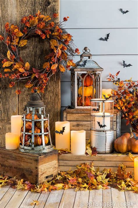 Beautiful Fall Porches!  B Lovely Events