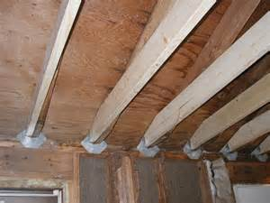 how to stick build rafters to ceiling floor joists homesteading forum