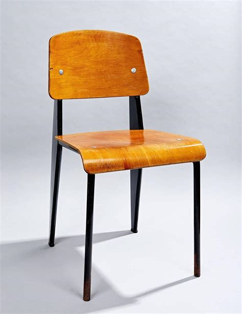 chaise jean prouv quot chaise standard quot by jean prouvé at 1stdibs