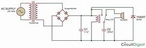 Mains Power Supply Failure Alarm Circuit Design