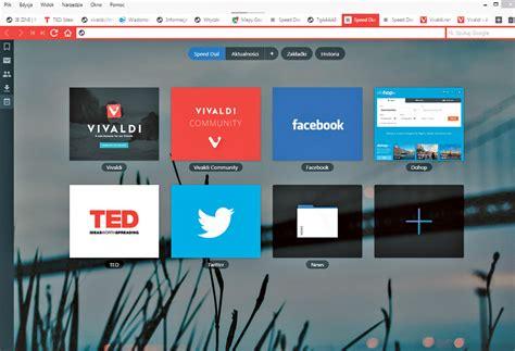 vivaldi przeglądarka dla zaawansowanych pc format