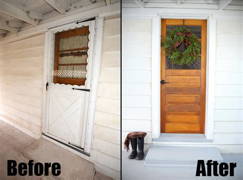 5 Simple But Gorgeous Front Door Transformations