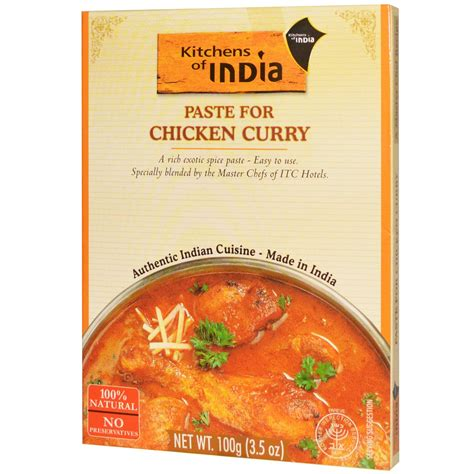 Kitchens Of India, Paste For Chicken Curry, Concentrate