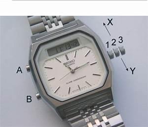 Seiko Watch H556 User Guide
