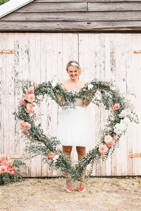 17 Best Ideas About Wedding Heart Wreath On Pinterest