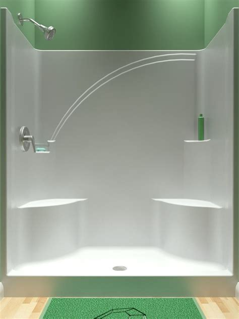 piece tub shower ideas  pinterest