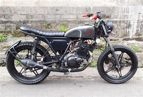 suzuki thunder  custom motorcycle bali