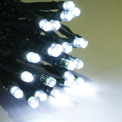 multifunction outdoor white led lights string of 160
