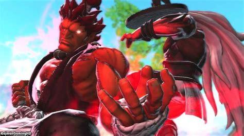 Street Fighter X Tekken Akuma And Ogre Arcade Playthrough