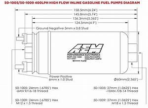 Pompe  U00e0 Essence Externe Aem 400l  H   U00e9quivalent Bosch 044