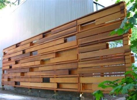 unique privacy fence idea walls art pinterest    gap  fence ideas