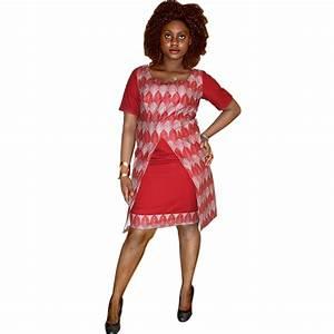 Ensemble en pagne africain et tissus de couleur rouge for Tapis rouge avec ensemble canapé tissu