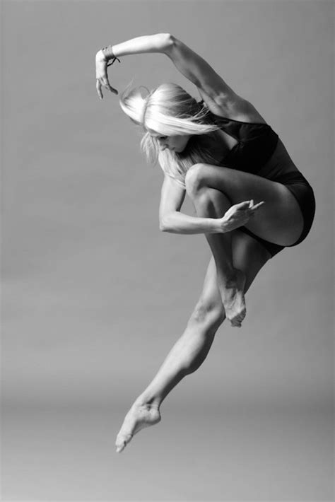 ballet black and white contemporary image 686105 on favim