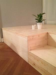 Bett Im Wohnzimmer : selber machen on pinterest ~ Lizthompson.info Haus und Dekorationen