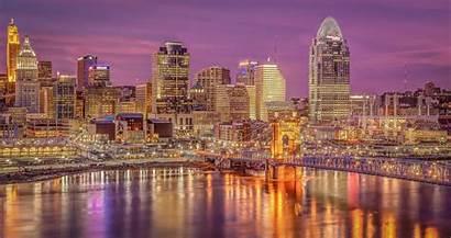 Cincinnati Skyline Wallpapers Night Bengals Imgur Dey