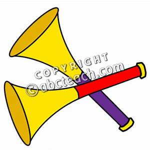 New Year Party Horn Clipart