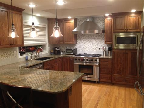 walnut kitchen ideas c l cabinets woodworking inc woodworking gallery