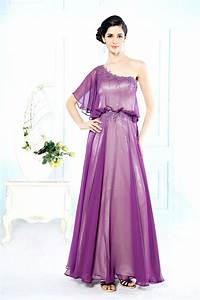 robe classe pour mariage invite a une epaule persunfr With robe classe mariage