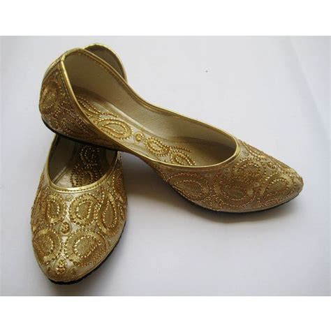 Gold Sequin Bridal Ballet Flatswedding Shoespaisley
