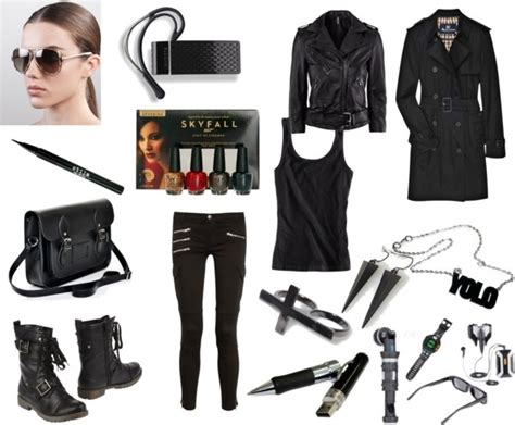 Spy Look | Pinterest | Spy Polyvore and Costumes
