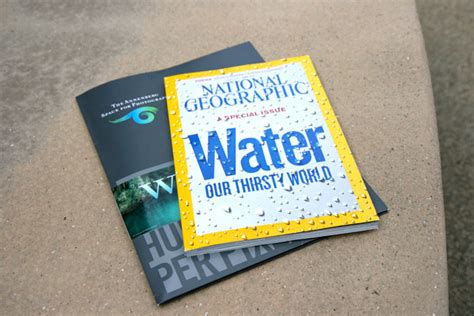 Water Our Thirsty World (notcot