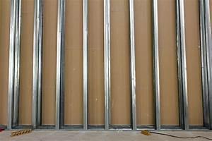 Doubler Un Mur En Placo Sur Rail : pose de placo ce qu il faut savoir avant de vous lancer ~ Dode.kayakingforconservation.com Idées de Décoration