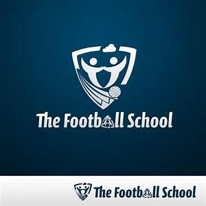 Football School Logo Design by gillesvalk on DeviantArt