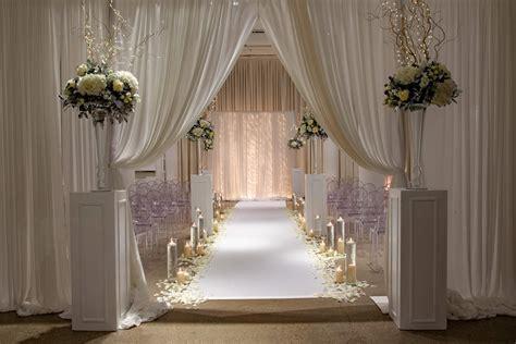 modern wedding ceremony chez chicago wedding venue
