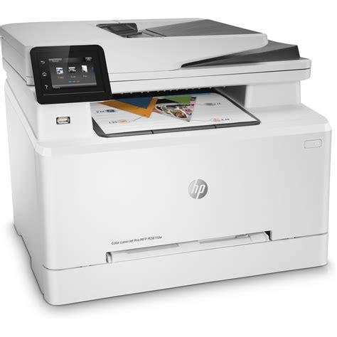 hp laser color printer hp color laserjet pro mfp m281fdw a4 colour multifunction