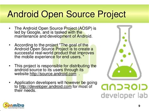 android open source project android fundamentals architecture and versions