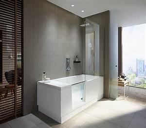 Duravit Walk In Dusche Und Badewanne In Einem Haustec