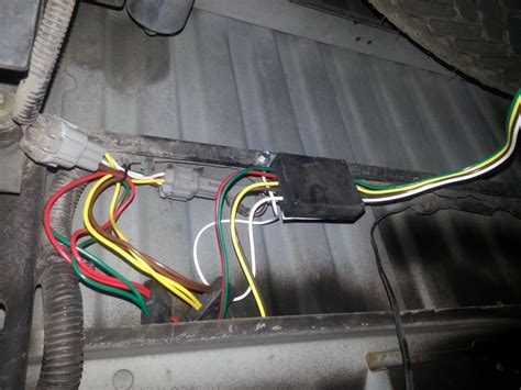 2002 Nissan Frontier Trailer Wiring by 2002 Nissan Frontier Custom Fit Vehicle Wiring Tekonsha