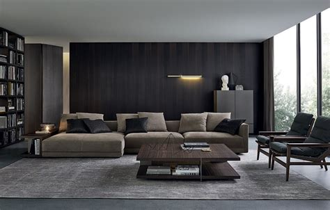 chaise longue de salon sofas poliform bristol