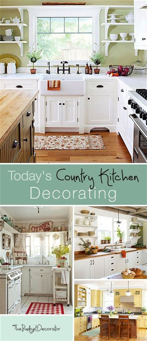 Country Kitchens Decorating Idea by 25 Best Ideas About Small Country Kitchens On