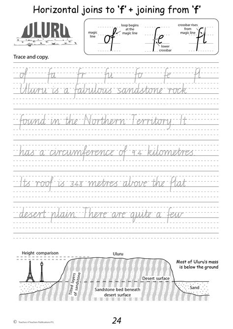 easy nsw cursive handwriting worksheets free goodsnyc