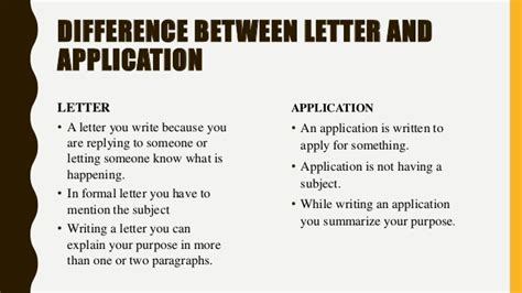 english correspondence kinds  letters