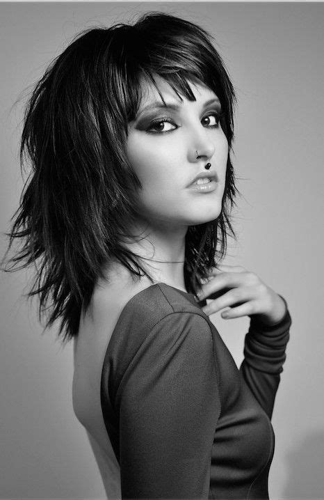 128 best shag haircuts images pinterest layered hairstyles hair dos and medium hair