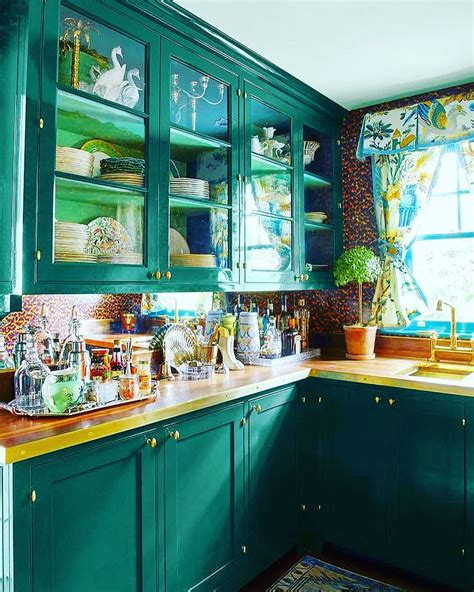 sherwin williams country squire green kitchen cabinets