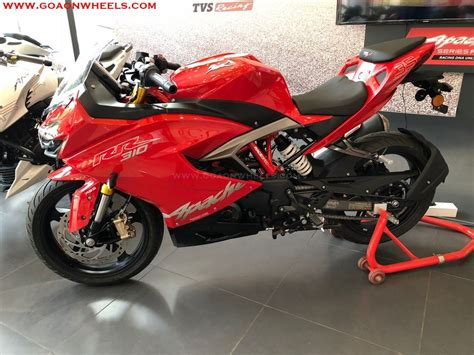 Tvs Apache Rr 310 Picture by Tvs Launches New Apache Rr 310 In Goa On Road Prices Inside