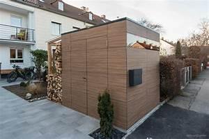 Gartenhaus Mit Holzlager : design gartenhaus french walnut by design garten augsburg 2 fl gelt ren und holzlager mit ~ Whattoseeinmadrid.com Haus und Dekorationen