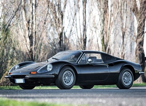 Black w/crema leather and bordeaux stitching & inserts. Treat Yourself to a Classic Ferrari: Pristine 1973 Dino 246 GTS Is for Sale - autoevolution